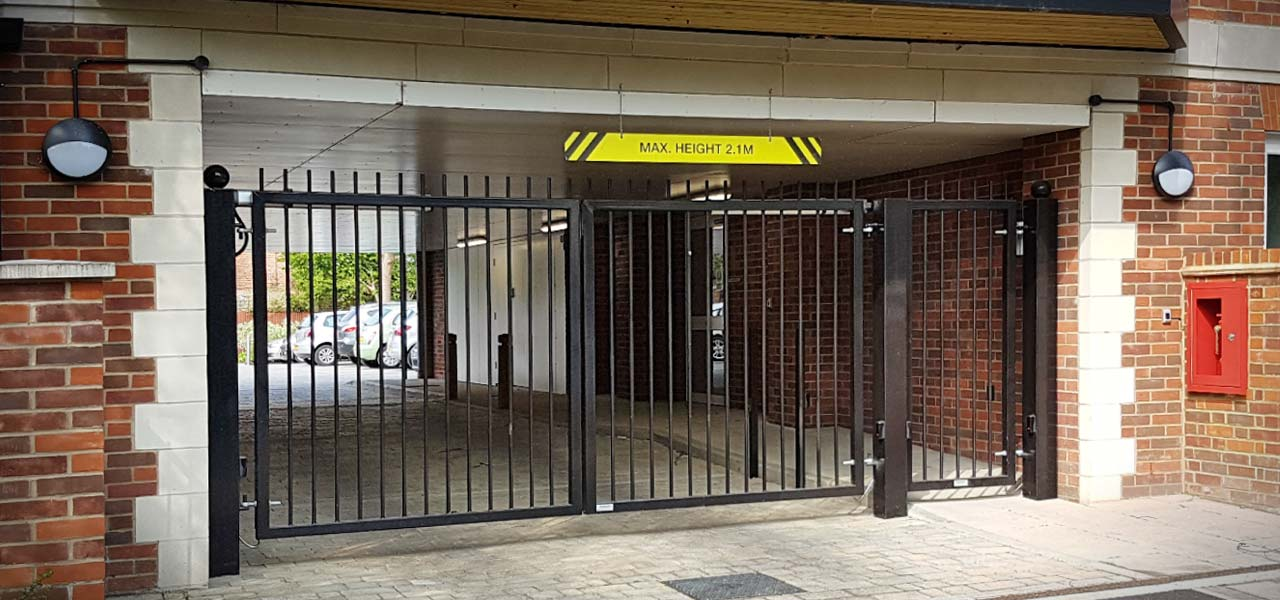 security entry gates