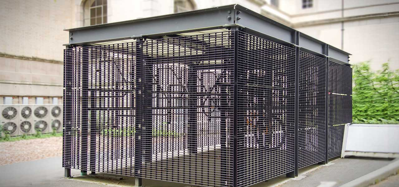 commercial security cages
